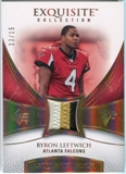 2007 Upper Deck Exquisite Collection Patch Spectrum #BL Byron Leftwich 13/15