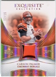 2007 Upper Deck Exquisite Collection Patch Spectrum #CP Carson Palmer 12/15