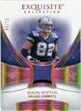 2007 Upper Deck Exquisite Collection Patch Spectrum #JH Jason Witten 06/15