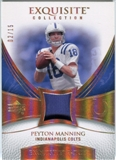 2007 Upper Deck Exquisite Collection Patch Spectrum #PE Peyton Manning 2/15