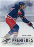 2007/08 Upper Deck Ice #142 Ivan Baranka /1999