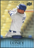 2008 Upper Deck Premier #80 James Loney /99
