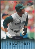 2008 Upper Deck Premier #118 Carl Crawford /99