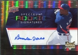 2008 Upper Deck Spectrum #105 Brandon Jones Autograph