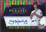 2008 Upper Deck Spectrum #122 Joe Koshansky RC Autograph