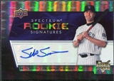 2008 Upper Deck Spectrum #140 Seth Smith Autograph