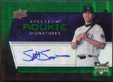 2008 Upper Deck Spectrum Green #140 Seth Smith Autograph
