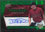 2008 Upper Deck Spectrum Green #142 Troy Patton Autograph