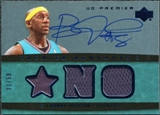 2007/08 Upper Deck Premier Remnants Triple Autographs #BI Mike Bibby /50