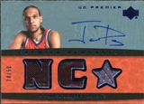 2007/08 Upper Deck Premier Remnants Triple Autographs #JD Jared Dudley /50