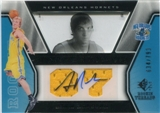 2007/08 Upper Deck SP Rookie Threads #75 Adam Haluska Autograph /799
