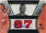 2007/08 Upper Deck SP Rookie Threads #79 Jermareo Davidson Autograph /799