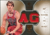 2007/08 Upper Deck SP Rookie Threads #RTAG Aaron Gray