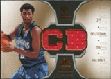 2007/08 Upper Deck SP Rookie Threads #RTCB Corey Brewer