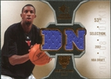 2007/08 Upper Deck SP Rookie Threads #RTDN Demetris Nichols