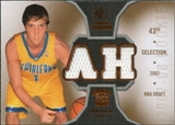 2007/08 Upper Deck SP Rookie Threads #RTHA Adam Haluska