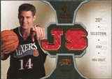 2007/08 Upper Deck SP Rookie Threads Rookie Threads #RTJS Jason Smith