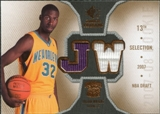 2007/08 Upper Deck SP Rookie Threads Rookie Threads #RTJW Julian Wright
