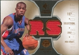 2007/08 Upper Deck SP Rookie Threads Rookie Threads #RTRS Rodney Stuckey
