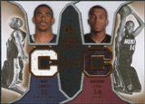2007/08 Upper Deck SP Rookie Threads Dual #CC Mike Conley Daequan Cook