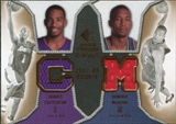 2007/08 Upper Deck SP Rookie Threads Dual #CM Javaris Crittenton Dominic McGuire