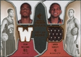 2007/08 Upper Deck SP Rookie Threads Dual #DW Sean Williams Jared Dudley