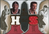 2007/08 Upper Deck SP Rookie Threads Dual #HS Herbert Hill Jason Smith