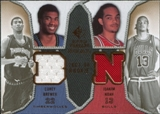 2007/08 Upper Deck SP Rookie Threads Dual #NB Corey Brewer Joakim Noah