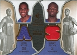 2007/08 Upper Deck SP Rookie Threads Dual #SA Arron Afflalo Rodney Stuckey