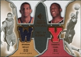 2007/08 Upper Deck SP Rookie Threads Dual #WY Brandan Wright Thaddeus Young