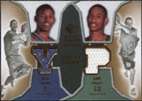 2007/08 Upper Deck SP Rookie Threads Dual #YP Nick Young Gabe Pruitt