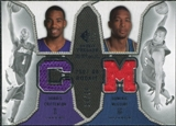2007/08 Upper Deck SP Rookie Threads Dual Parallel #CM Javaris Crittenton Dominic McGuire /99