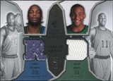 2007/08 Upper Deck SP Rookie Threads Dual Parallel #DR Chris Richard Glen Davis /99