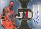 2007/08 Upper Deck SP Rookie Threads Patch Autographs #RTDA Jermareo Davidson /25