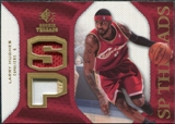 2007/08 Upper Deck SP Rookie Threads Patch #SPLH Larry Hughes