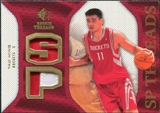 2007/08 Upper Deck SP Rookie Threads Patch #SPYM Yao Ming