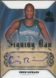 2007/08 Upper Deck SP Rookie Threads Signing Day #SDCR Chris Richard Autograph