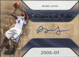2007/08 Upper Deck SP Rookie Threads Scripted in Time #BJ Bobby Jones Autograph
