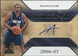 2007/08 Upper Deck SP Rookie Threads Scripted in Time #MA Maurice Ager Autograph