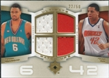 2007/08 Upper Deck Ultimate Collection Matchups Gold #MC Tyson Chandler Sean May /50
