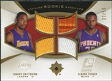 2007/08 Upper Deck Ultimate Collection Rookie Matchups Gold #CT Javaris Crittenton Alando Tucker /50