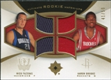 2007/08 Upper Deck Ultimate Collection Rookie Matchups Gold #FB Nick Fazekas Aaron Brooks /50