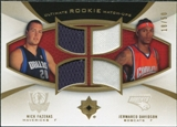 2007/08 Upper Deck Ultimate Collection Rookie Matchups Gold #FD Nick Fazekas Jermareo Davidson /50