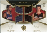 2007/08 Upper Deck Ultimate Collection Rookie Matchups Gold #SW Jason Smith Sean Williams /50
