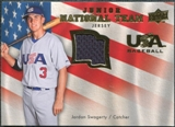 2008 Upper Deck USA Junior National Team Jerseys #JS Jordan Swagerty