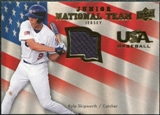 2008 Upper Deck USA Junior National Team Jerseys #KS Kyle Skipworth