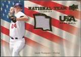 2008 Upper Deck USA National Team Jerseys #JT Jacob Thompson