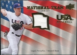 2008 Upper Deck USA National Team Jerseys #LF Logan Forsythe