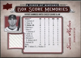 2008 Upper Deck UD A Piece of History Box Score Memories Jersey #BSM16 Travis Hafner