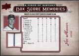 2008 Upper Deck UD A Piece of History Box Score Memories Jersey #BSM34 Joe Mauer